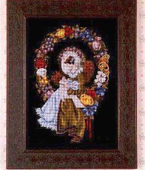 "Схема ""Lady of the Thread • Ниточная Леди"" Lavender & Lace"