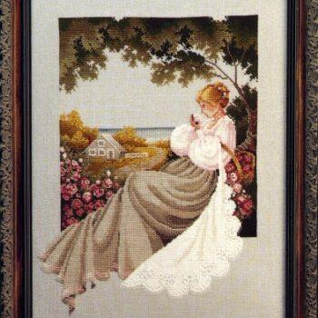 "Схема ""Nantucket Rose • Роза"" Lavender & Lace"