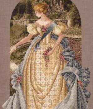 "Схема ""Queen Anne's Lace • Кружева Королевы Анны"" Lavender & Lace"