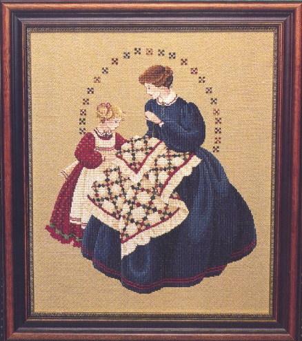 "Схема ""The Quiltmaker • Швея"" Lavender & Lace"
