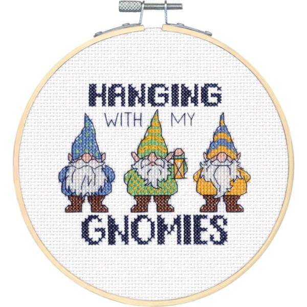 """Набор для вышивания крестом """"Gnomies • Гномы"""" DIMENSIONS"""