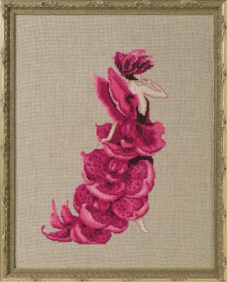 "Схема ""Lady Orchid Moth • Леди Орхидея"" Nora Corbett"