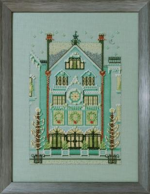 """Схема """"The Clockmaker's House • Дом часовщика"""" Nora Corbett"""