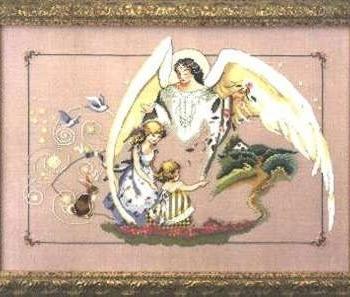 """Схема """"Guardian Angel • Ангел Хранитель"""" Mirabilia Designs"""