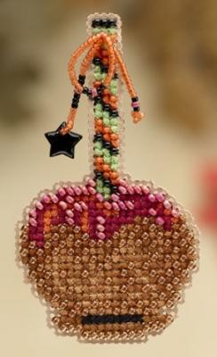 """Набор для вышивания """"Caramel Apple • Карамельное яблоко"""" Mill Hill"""