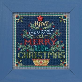 """Набор для вышивания """"Merry Little Christmas • Счастливого Рождества"""" Mill Hill"""