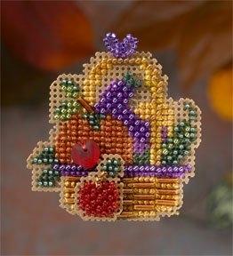 """Набор для вышивания """"Autumn Bounty • Осенняя щедрость"""" Mill Hill"""