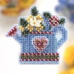 "Набор для вышивания ""Flower Showers • Лейка с цветами"" Mill Hill"