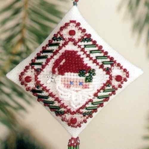 "Набор для вышивания ""Star Santa • Звездный Санта"" Mill Hill"