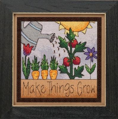 "Набор для вышивания ""Make Things Grow • Заставить вещи расти"" Mill Hill"