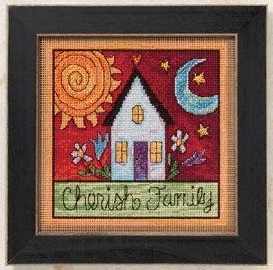 "Набор для вышивания ""Cherish Family • Береги семью"" Mill Hill"