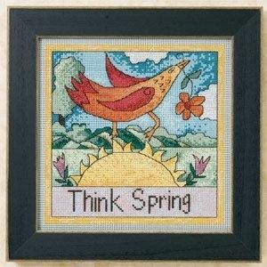 "Набор для вышивания ""Think Spring • Думай про весну"" Mill Hill"