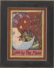 "Набор для вышивания ""Love by the Moon • Люби луной"" Mill Hill"