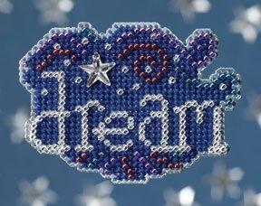 """Набор для вышивания """"Dream • Мечта"""" Mill Hill"""