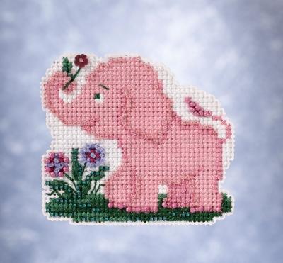"Набор для вышивания ""Ella Phant • Элла слоненок"" Mill Hill"