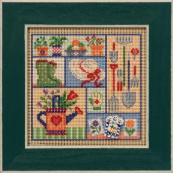 """Набор для вышивания """"Garden Sampler • Садовий семплер"""" Mill Hill"""