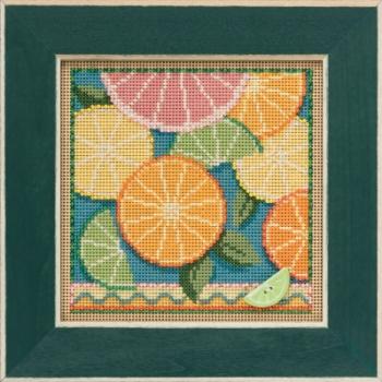 """Набор для вышивания """"Citrus • Цитрусовые"""" Mill Hill"""