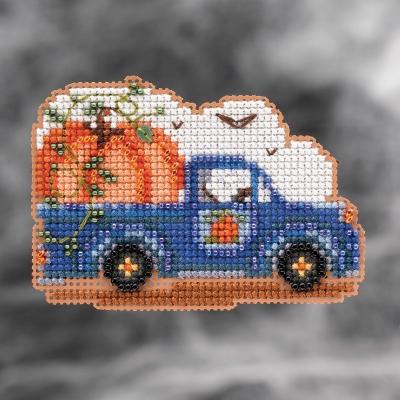 """Набор для вышивания """"Pumpkin Delivery • Доставка тыкв Mill Hill"""