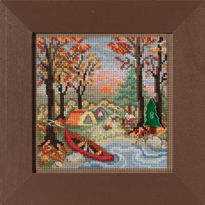 """Набор для вышивания """"Outdoor Adventure • Приключения на природе"""" Mill Hill"""